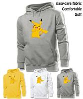 Cute Funny Cartoon Pikachu Pokemon Graphic Hoodie Men S Boy S Women S Girl S Sweatshirt