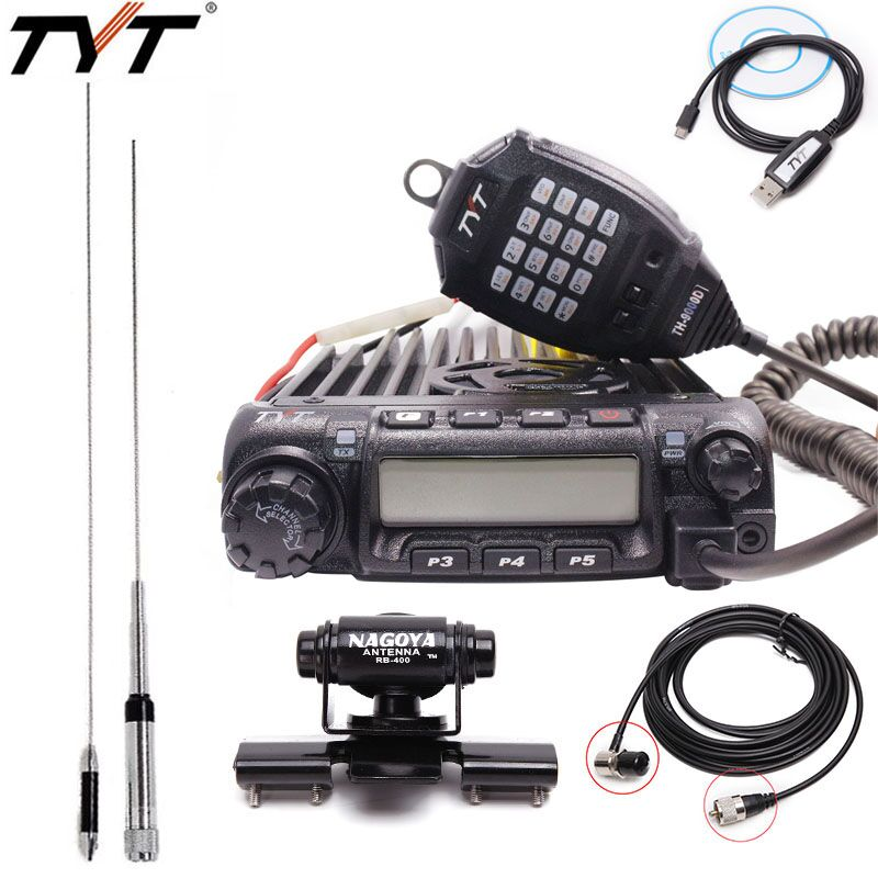 Best Selling TYT TH 9000D Mobile Car Radio VHF 136 174MHz 200CH 60W Super Power High