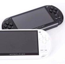 En iyi 5.0 inç renkli ekran el oyun konsolu 8 GB bellek değil psp konsolu için nes oyunları için TF kart video müzik kamera yeni