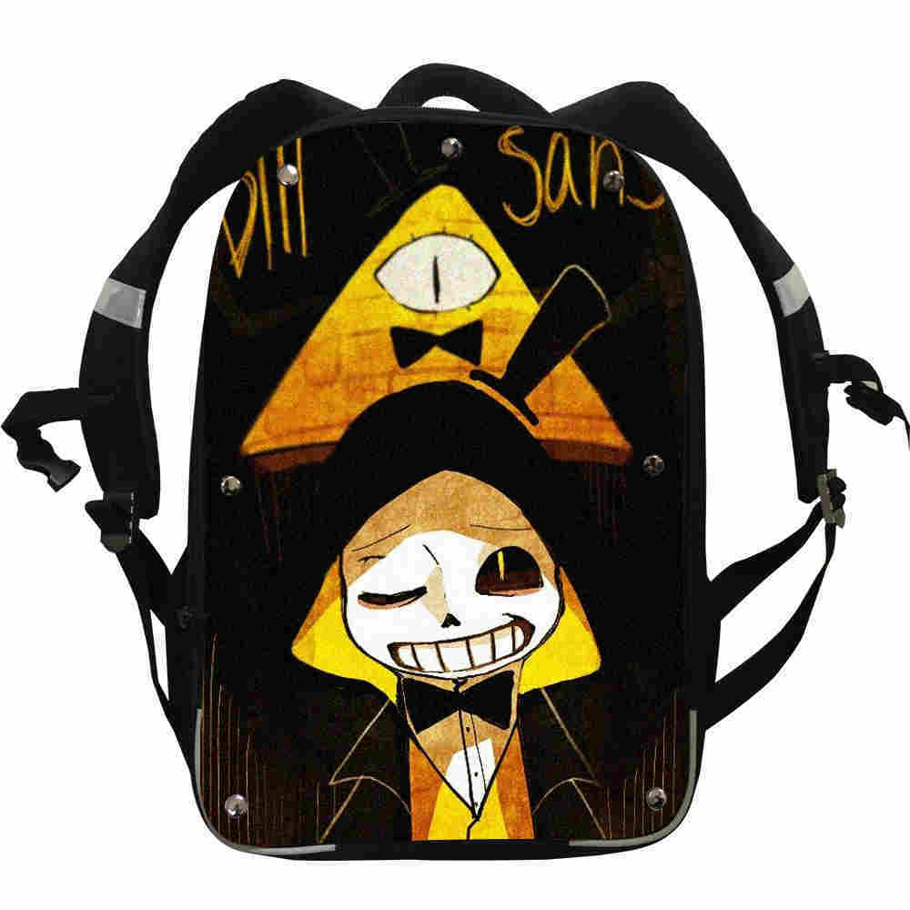 Undertale FNAF Sans UT Anime Backpacks Zomebie Horse Boys Girls Teenager School Bags Mochila Bolsa Lunch Pencil Box