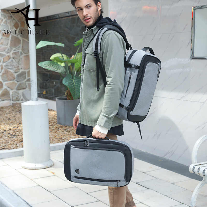 ARCTIC HUNTER разборка Многофункциональный 17 дюймов ноутбук рюкзаки для подростка бизнес мужской Mochila мужской рюкзак для путешествий сумка