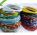 Free Shipping 100pcs Mixed Color  Stainless Steel Necklace Wire Cord For DIY Craft Jewelry 18inch