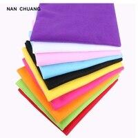 Nanchuang мм Нетканая мм толщина 1,5 полиэстер мягкий фетр для украшения дома ручной работы нетканый материал для детей 90x90 см