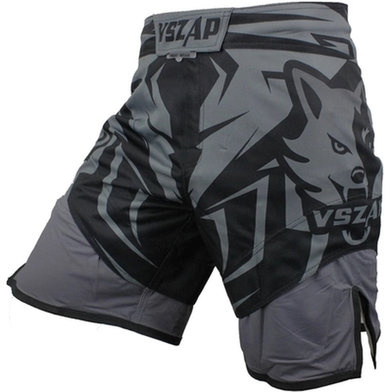VSZAP 2018 Boxing Fight Shorts MMA Shorts For Men Muay Thai Sport Shorts Trunks Grappling Sanda Kickboxing Pants Boxe wesing aiba approved boxing gloves 12oz competition mma training muay thai kickboxing sanda boxer gloves red blue