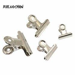 10 Pcs Metall Rechnung Clip Silber Bulldog Clip Edelstahl Ticket Clip Schreibwaren Bills Metall Clip Büro Schule Liefert