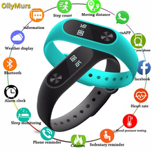 Sport Smart Bracelet Watch Men Women Smartband For Android IOS Fitness Tracker Electronics Clock Band Smartwach