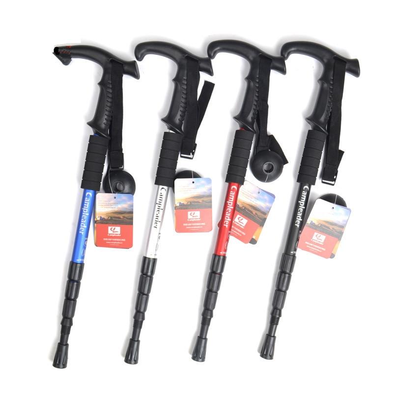 Image 5 - VILEAD 2pieces/lot 50 108cm Nordic Walking Sticks 6061 Aluminum alloy Ultralight Outdoor Travel Hiking Trekking Poles Cane Climb-in Walking Sticks from Sports & Entertainment