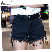 2019 new Womens Sexy Jeans Shorts Summer Booty Mini Denim Short Ladies Casual Jean Black fashion Plus Size S-6XL