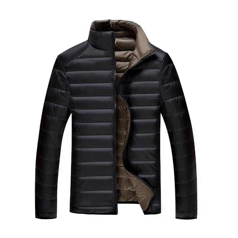 5XL 6XL 7XL 90%White Duck Down Jacket Winter Warm Jacket Coat Mens Thin Ultralight Down Jackets Men Outwear Coats