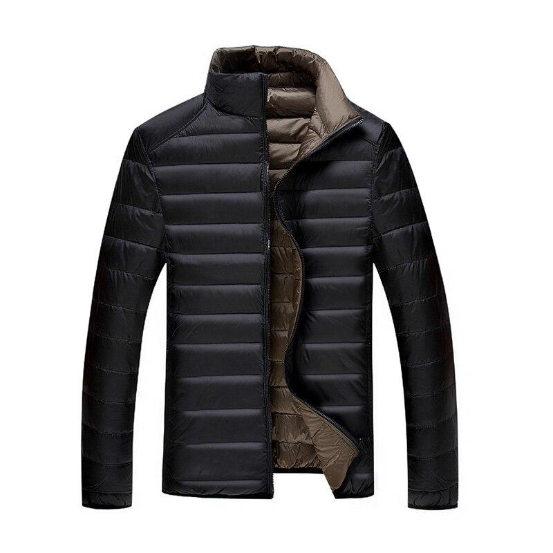 5XL 6XL 7XL 90% белая утка Подпушка куртка зимняя теплая куртка пальто Для мужчин тонкий Сверхлегкий Пуховики и парки для мужчин Для мужчин пиджак...