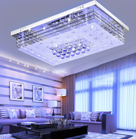 Colorful ceiling lighting LED ceiling lamp 4 color LED ceiling lamp for living room bedroom with remote controler 220V ONLY