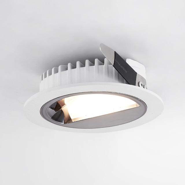 SCON LED 5 ワット/9 ワット偏光壁洗濯組み込み天井ダウンライト博物館専門店ホテル商業屋内照明