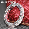 Luxury 4 5 Carat Ct 4mm F Color Engagement Band Wedding Band For Women Solid 14K