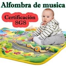 Spanish Traffic Music Children Carpet Sport Mat for Kids Baby Toys 13 24 Months Playmat