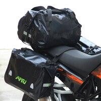 AMU Authentic Motorcycle Bag Waterproof tank bag Saddlebags Racing Riding Motor Helmet Bags Oil Travel Luggage Waterproof Bags