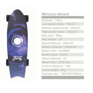 Image 3 - New Electric Skateboards with Music Lightweight Scooter E Skateboard E Bicycle Lithium Battery Powered for Adult
