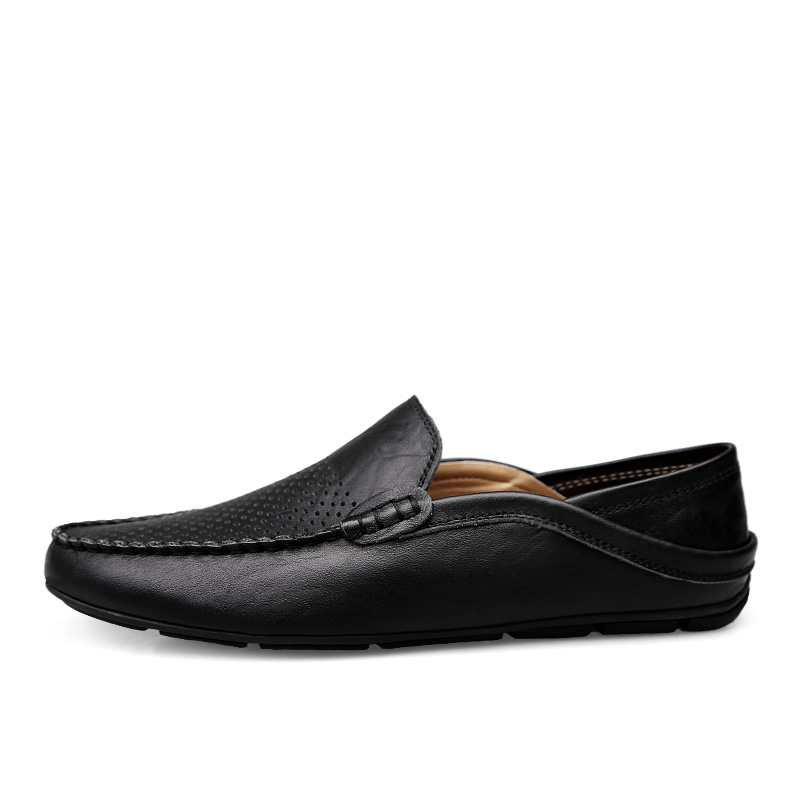 HTB1l0wMLCzqK1RjSZFjq6zlCFXaI Italian Mens Shoes Casual Luxury Brand Summer Men Loafers Genuine Leather Moccasins Light Breathable Slip on Boat Shoes JKPUDUN