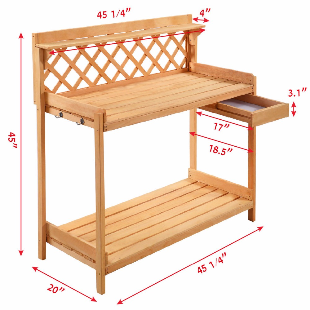 wood table top composite p potting greenhouse is bench supplies garden weatherguard and