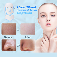 Light LED Therapy Face Mask Neck Skin Rejuvenation Face Care