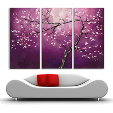 oil painting Abstract hand painted flower living room bedroom restaurant use Decorative poster DY-096