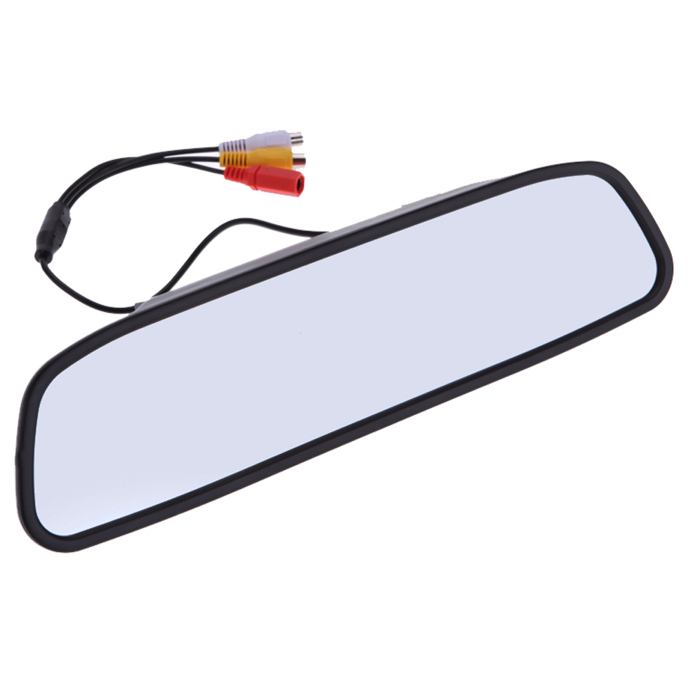 Car Rearview Mirror Monitor With Backup Reverse Camera Tft