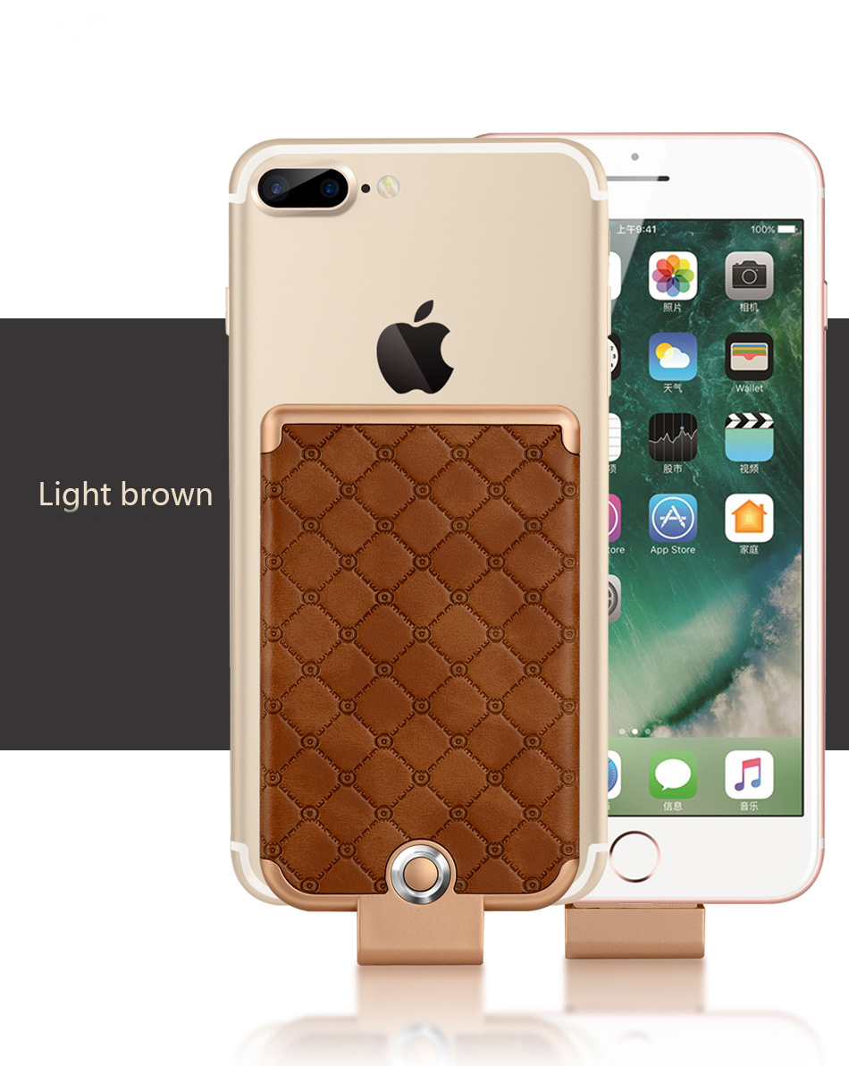 JLW 3600mAh Mini Battery Charger Case for iPhone 8/7/6 Protable External Clip Battery Rechargeable <font><b>Power</b></font> Bank for iPhone 8 Plus