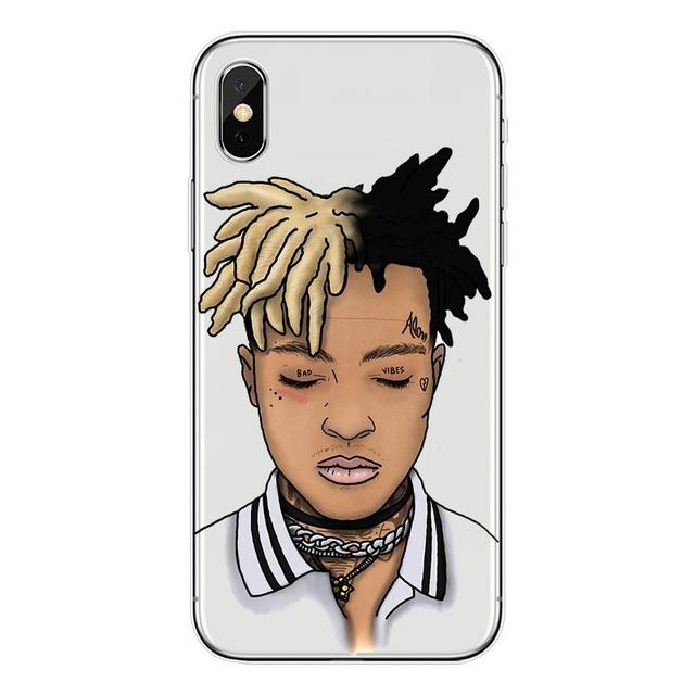 Kulia     Matte Hard Plastic Xxxtentacion Case Cover For Apple iPhone 8 7 X 6 Plus 5 5S SE Transparent Phone Cases