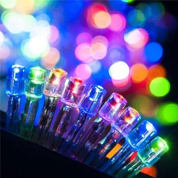 10M/20M 100/200 LEDs Led String Light Waterproof 220V Holiday Christmas Wedding Garden Party Decoration Decorative