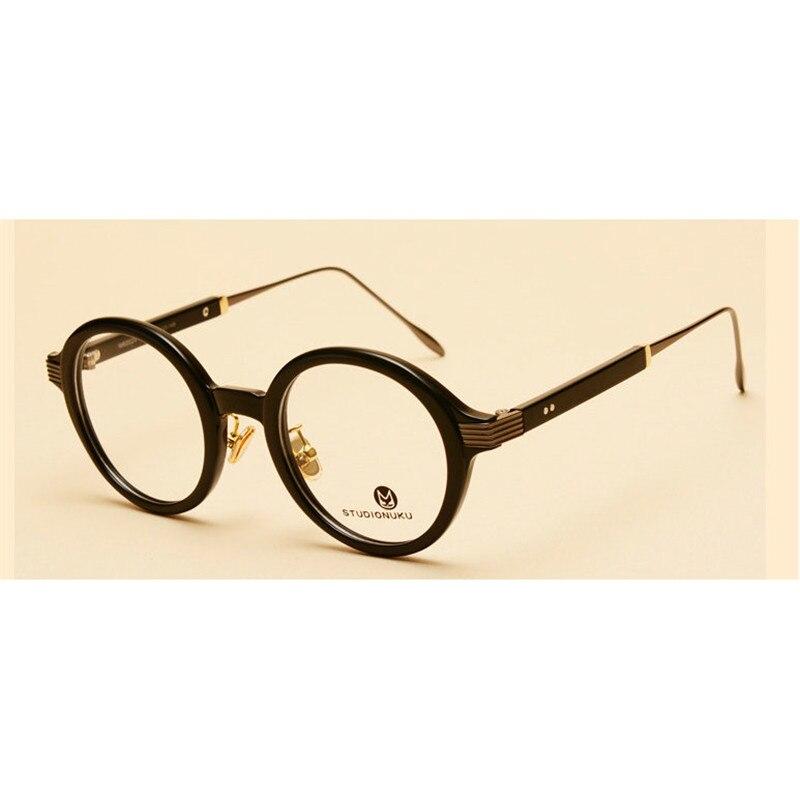 74599097dc7 Detail Feedback Questions about MINCL TR90 Eyeglasses Frames Unisex Optical  Prescription Retro Round Glasses Frame Clear Lens Vintage Eyewear For Women  Men ...