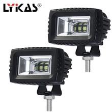 Lykas 20 Вт работы луч света светодио дный Worklight 6000 К 24 В 12 В IP67 для бездорожья внедорожник ATV 4WD 4X4 вождения Туман лампа