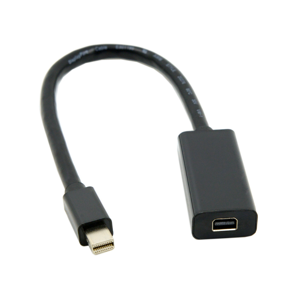 DisplayPort male to mini DisplayPort Female cable 0.2m for ATI  Apple