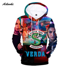 Aikooki Riverdale 3d Hoodies Men /Women Street wear Coats 2018 Fashion Hoody Men's Pullover Clothing 3d Sweatshirt 3d-hoodies