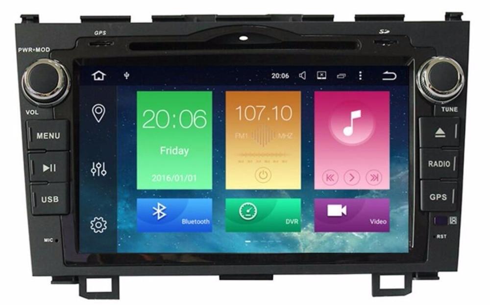 4G LTE 2 din Android 8.0 Voiture DVD GPS pour Honda CRV CR-V 2006 2007 2008 2009 2010 2011 wifi Vidéo radio 1024*600 8 pouces 4G + 32ROM