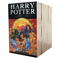 8 Books/ Set Harry Potter Adult Foreign Novels English Story for Kids Spell English Reading Books for child
