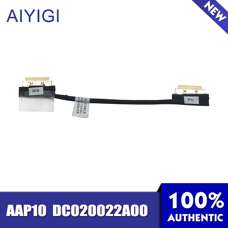 Charitable Aiyigi New Original Power Switch Cable For Dell Alienware 15 R1 R2 Aap10 Dc020022a00 Notebook Accessories Computer & Office