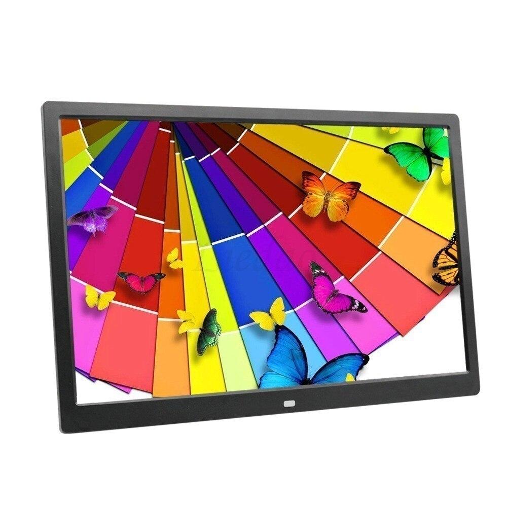 Liedao 15 pouces LED rétro-éclairage HD 1280*800 pleine fonction cadre Photo numérique Album électronique digitale image musique vidéo