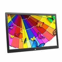 Liedao 15 дюймов светодиодный HD 1280*800 полнофункциональная цифровая фоторамка электронный альбом цифровая фотография Музыка Видео