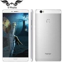 Оригинальный Huawei Honor Примечание 8 4 г LTE мобильный телефон 4 ГБ 32 ГБ 6.6 дюймов 2560*1440 Экран Восьмиядерный 2.5 ГГц металла Для тела 4500 мАч Батарея