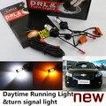Cheetah Frete grátis Para Chevrolet CRUZE FAÍSCA LEVOU DRL LEVOU Daytime Running Light & turn signal luz tudo em um 20 w de alta poder