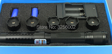Buy online Most Powerful Military 10000mw 10W 450nm Blue Laser Pointers SOS Flashlight Burn Match Candle Lit Cigarette Wicked LAZER Torch
