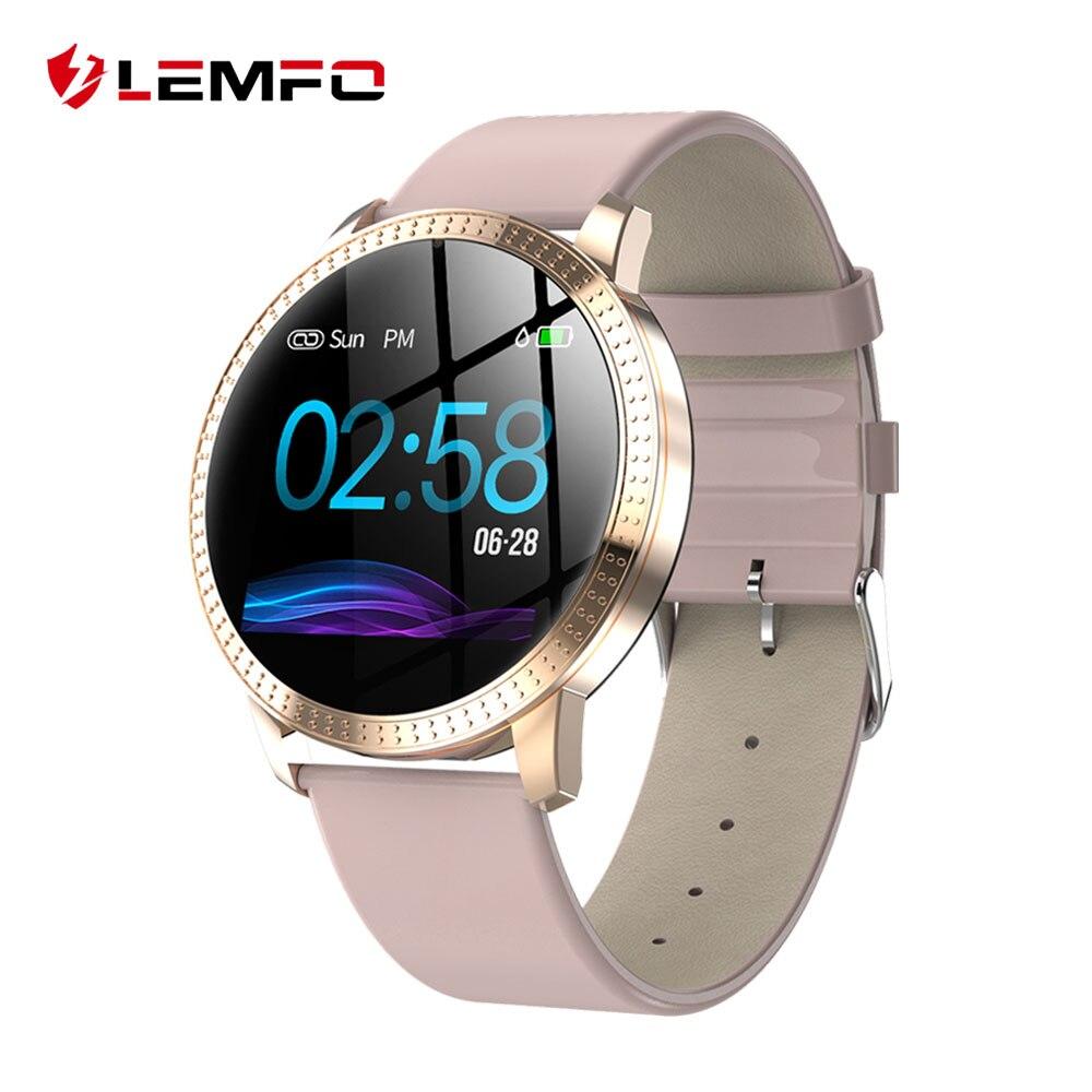Wasserdicht Smartwatch Fitness Armband Uhr Dame Bracelet Tracker Blutdruck IP67 Aktivitätstracker