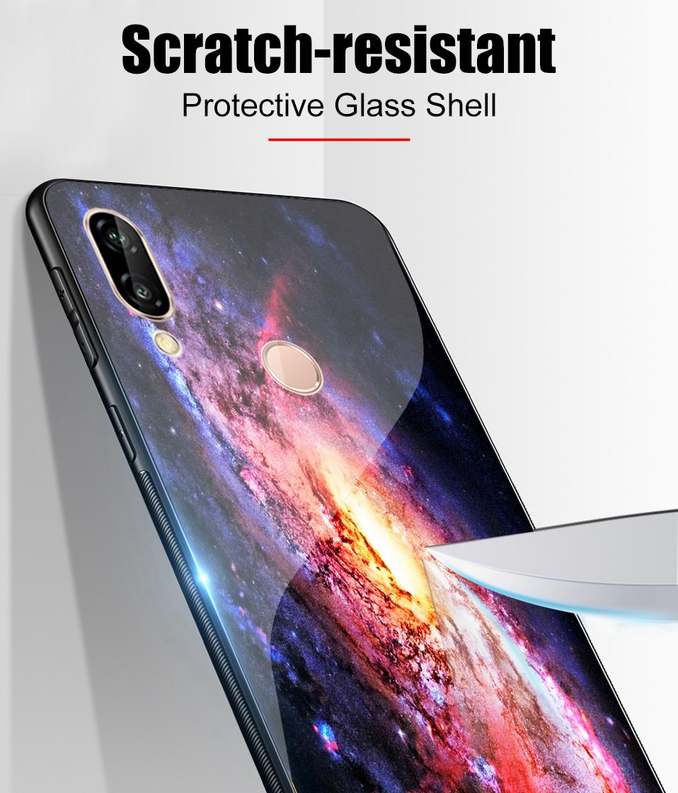 Glass Case For Huwei P20 Lite Nove 3 2i Silicone Anime Case For Huawei Honor Play 9 7A Mate 10 20 Lite P20 Pro P Smart Y6 2018   (11)