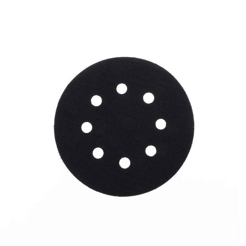 Almohadilla de interfaz de protección de superficie ultrafina de 5 pulgadas (125mm) con 8 orificios para almohadillas de lijado, discos de lijado de gancho y bucle, esponja fina