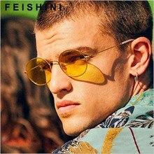 Punk steam double flip Metal personality sunglasses men 2015,Dazzle colour star style original women vintage Round