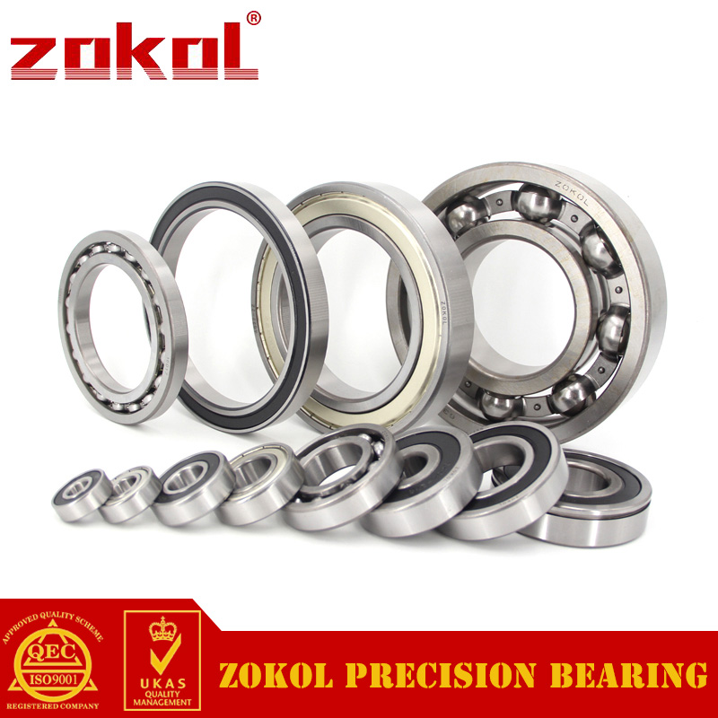 ZOKOL bearing 6321 2RS 180321 Deep Groove ball bearing 105*225*49mm zokol 6930rs bearing 6930 2rs 1000930 61930 6930 2rs deep groove ball bearing 150 210 28mm