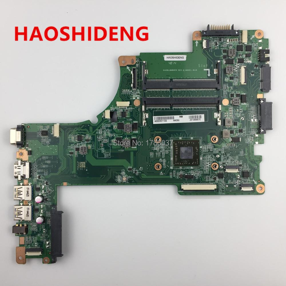A000301100 DA0BLMM6E0 For Toshiba Satellite L50D L55D L50DT-B L55D-B series laptop motherboard .All functions fully Tested ! a000302740 da0blimb6f0 for toshiba satellite s50 l50 b l50t b series motherboard with i5 5200u all functions fully tested