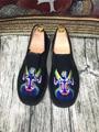 Старый Пекин классический вышивка мужчины Обувь мода белье Китайский стиль весна лето Мокасины Старинные сандалии квартиры обувь для мужчин