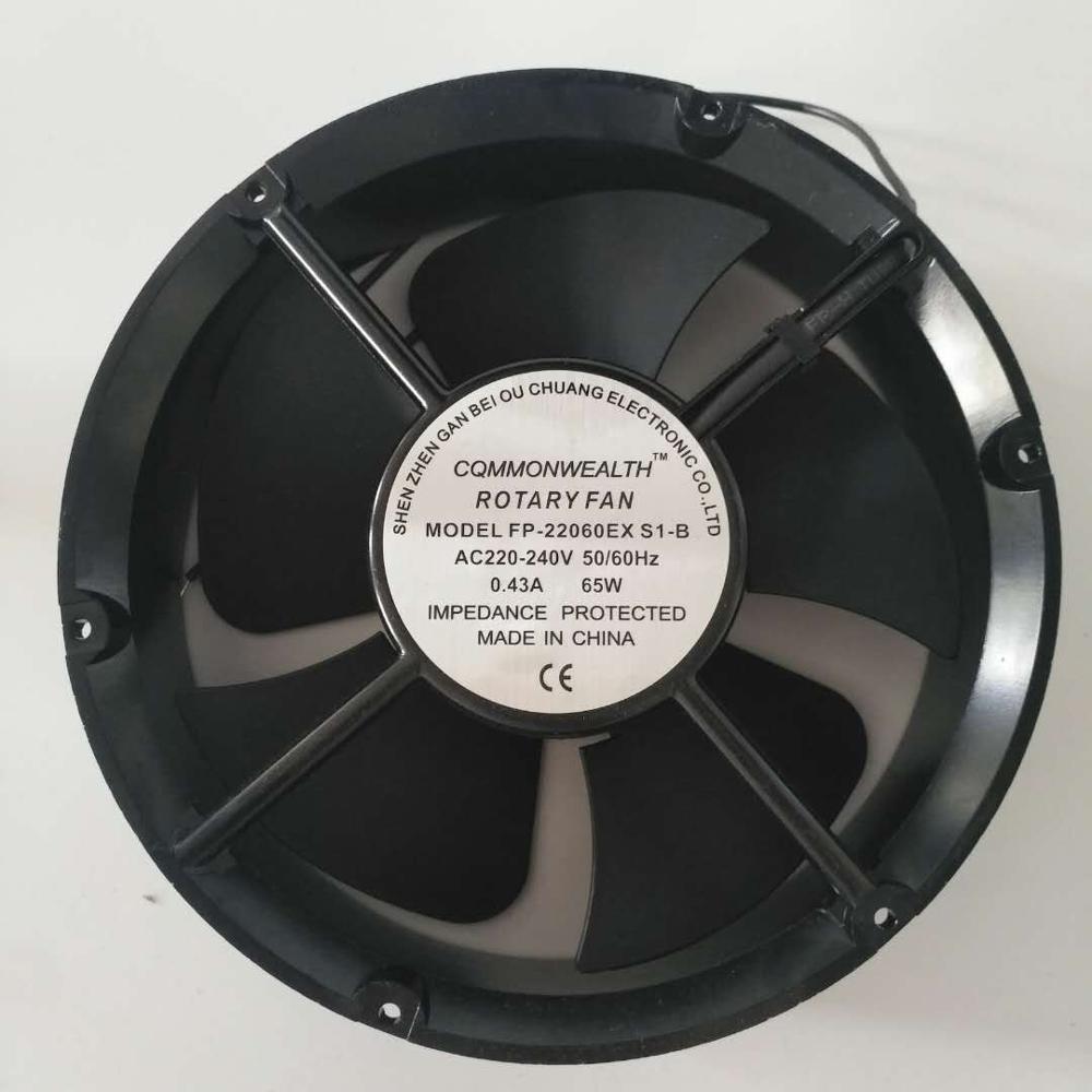 FP-20060EX-S1-B Ball Bearing Cooling Fan 20cm 220V Industrial Fan