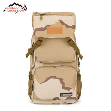 Outdoor Local Lion 2018 Classic Backpack Camouflage Climbing Hiking Jungle Travel Backpack High Capacity Cool Sports Bag