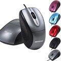 Confiável Optical Scroll Mouse Mouse Com Fio do mouse gamer USB 3 Botão Scroll Optical Mouse Mouse Com Fio Para PC Portátil Desktop